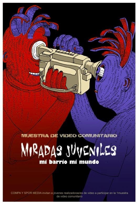 Cartel de cine del proyecto Miradas Juveniles I